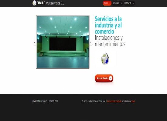 sencillaweb.com - ecimac.com - pagina web profesional